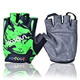Best Bicycle Gloves - UUNITONA Kids Biking Glove Breathable Half Finger Cycling Review