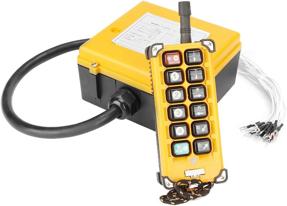 12 pulsanti Sollevamento Telecomando Interruttore a pulsante Telecontrollo per paranco a catena