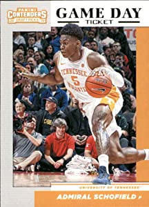 Basketball NBA 2019-20 Panini Collegiate Draft Picks Game Day Tickets #32 Admiral Schofield #32 NM Near Mint