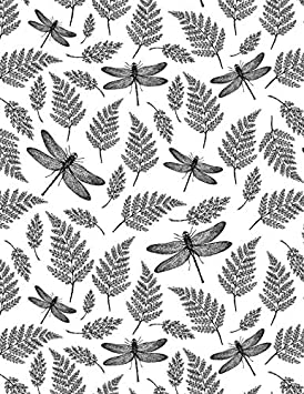 Sanbao Studio Ceramic Decals Insect Dragon Fly Blue