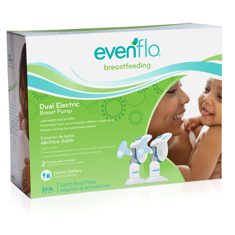 Discontinued by Manufacturer Evenflo Dual Electric Breast Pump