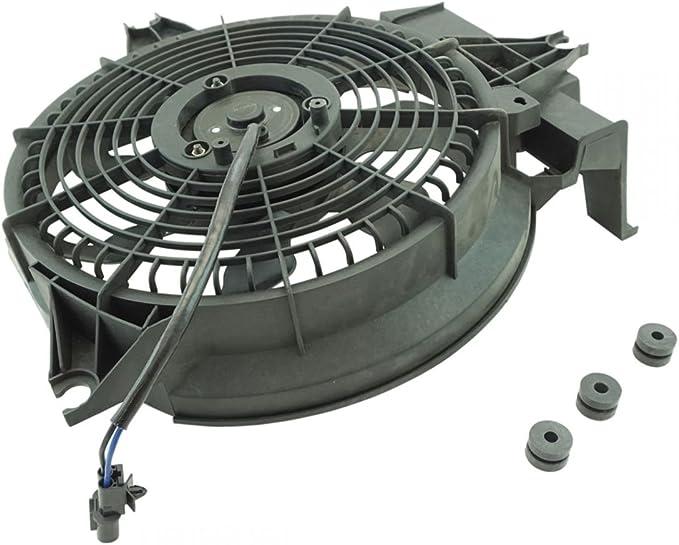 Radiator A//C AC Condenser Cooling Fan /& Motor for Dodge Ram Pickup Truck