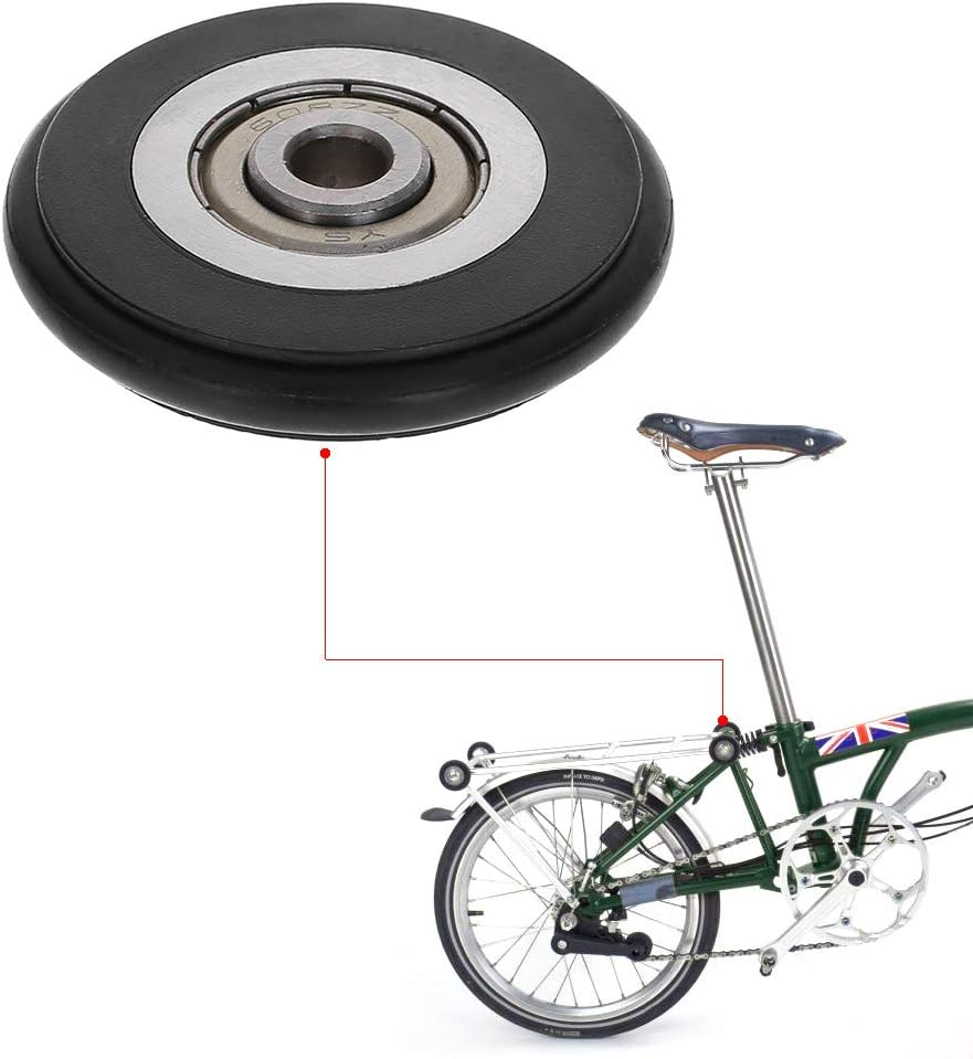 Ranuw rodamiento de Bicicleta fácil Rueda triángulo Rodillo de ...