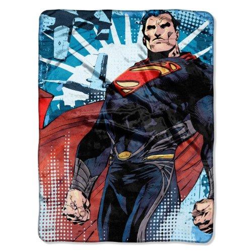 - Superman Man of Steel Smallville Micro Throw Blanket