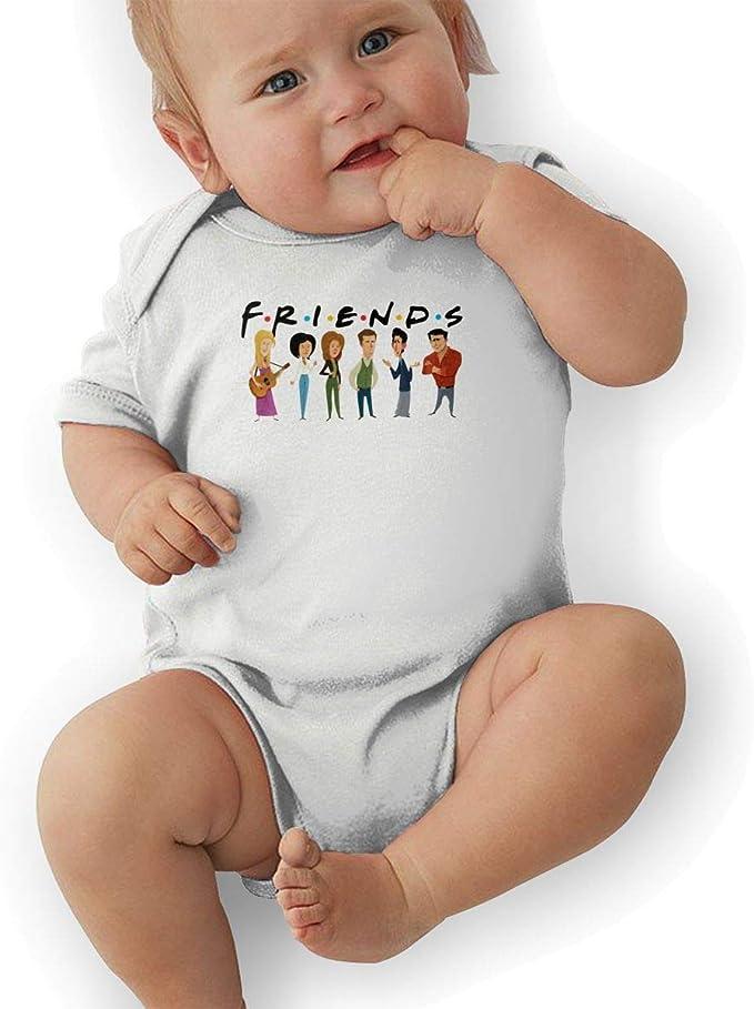 DJM Friends TV Show Infant Toddler Romper Baby Bodysuit