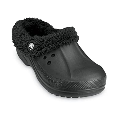 femmes Pantoufles Eau Rapides Noirs Crocs l5MfT