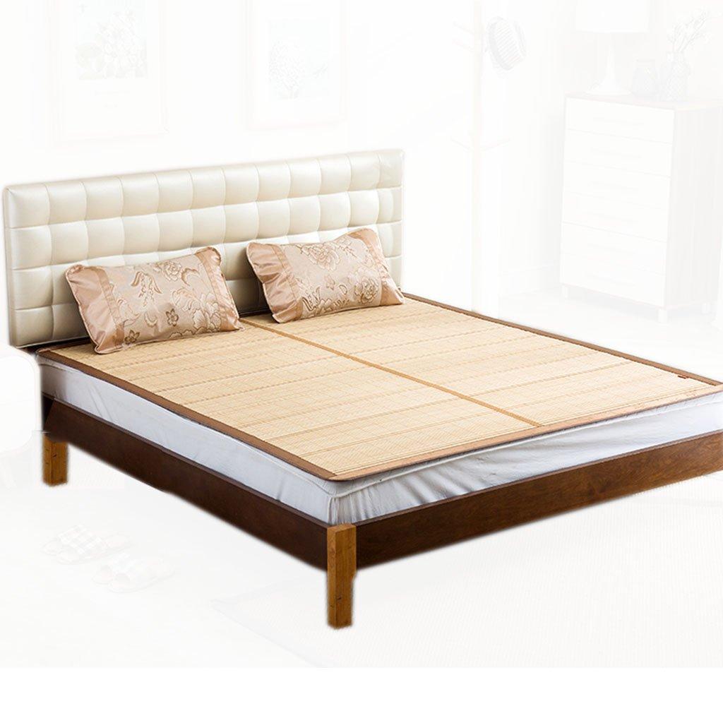 Ren Chang Jia Shi Pin Firm Bamboo mat bamboo mat folding mat summer mat family dormitory mat tatami hotel mat soft comfortable cool mattress mat yoga mat by Ren Chang Jia Shi Pin Firm