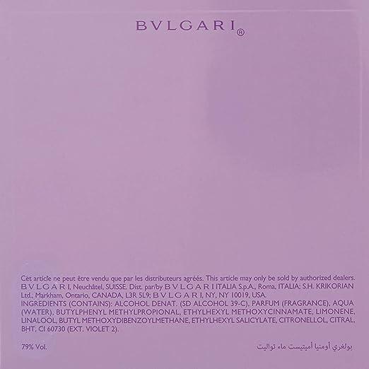 Amazoncom Bvlgari Omnia Amethyste By Bvlgari For Women Eau De