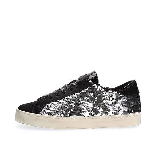 HL-PA-SL Sneaker Donna Nera con PAILLETTESA Argento MainApps  MainApps   Amazon.it  Scarpe e borse eae2b15ef81