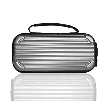 ACHICOO Storage Hard Case Console Carrying Bag Portable Travel Cover for Nintend sw/Itch Silver