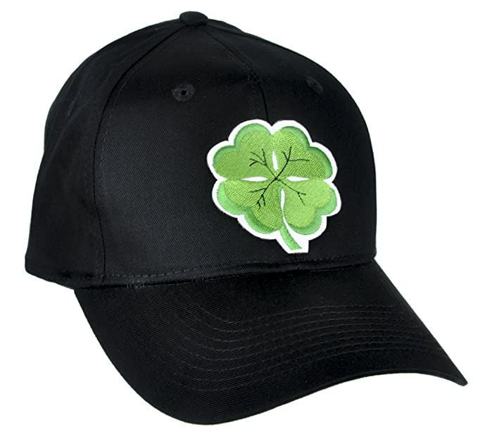 Amazon.com  Lucky Four Leaf Clover Hat Baseball Cap Alternative ... c450f9a312e
