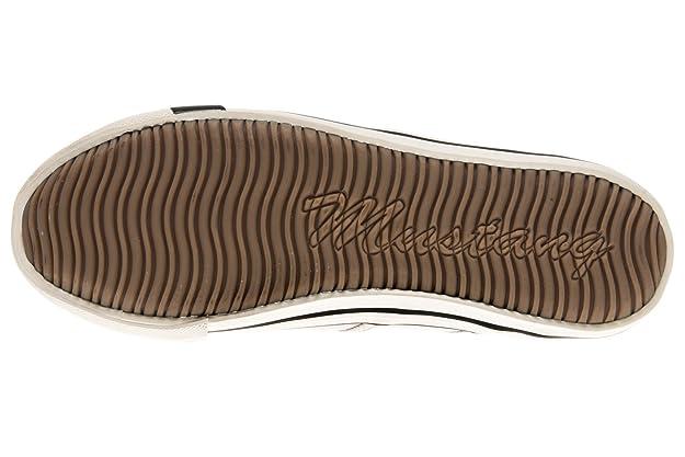 Mustang Slippers de Lona Mujer, Color, Talla 43 EU: Amazon.es: Zapatos y complementos