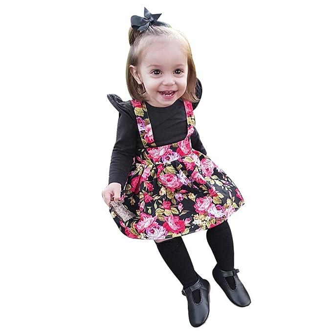 caa88ced8 Amazon.com  Clothful 💓 Newborn Infant Kids Baby Girls Romper Tops+ ...
