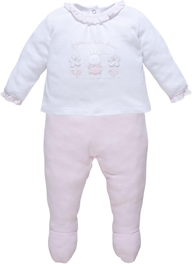 Chicco -Completo Bebé-Niñas, Rosa (011) Recién Nacido (50 cm): Amazon.es: Ropa y accesorios