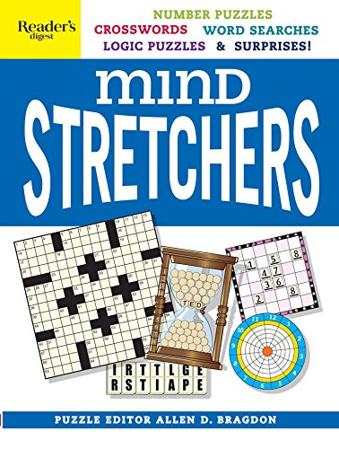 - Reader's Digest Mind Stretchers Puzzle Book: Number Puzzles, Crosswords, Word Searches, Logic Puzzles & Surprises