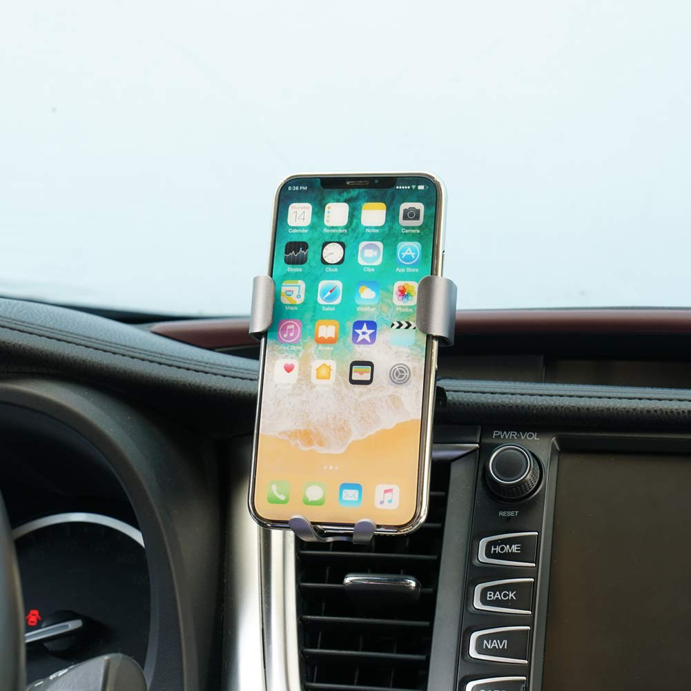 Phone Holder for Toyota Highlander,Wireless Charging Vent Phone Holder,Car Holds Mount for Toyota Highlander 2018 2019,Car Phone Mount fit for iPhone 7//6s//8//X,for Samsung,Smartphone for 4.7//5 in