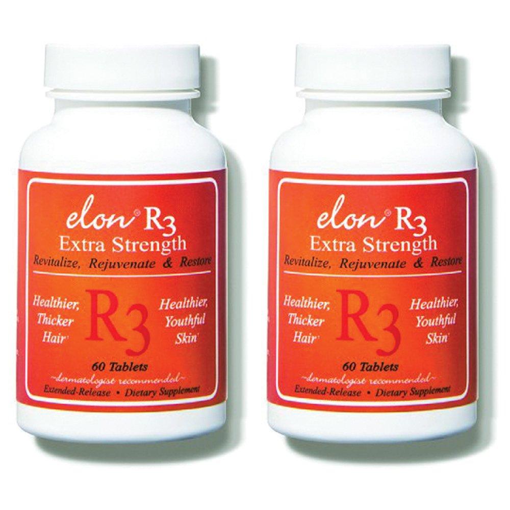 Elon R3 Extra Strength for Hair Growth -2 Pack