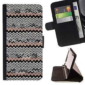 Momo Phone Case / Flip Funda de Cuero Case Cover - Modelo del papel pintado nativos Gente - Motorola Moto E ( 1st Generation )