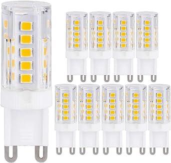 G9 Ampoule Halogène Lampe Blanc Chaud 19W Transparent 19w=25w tres longue durée