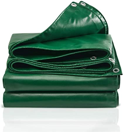 GRPB Lona Verde PVC Pesada Doble Capa Impermeable Sombrilla Toldo Cubierta de Carpa para Exterior Jardín Decoración Plantas Flores Mascotas A Prueba de Humedad Lonas a Prueba de Viento frías: Amazon.es: Hogar