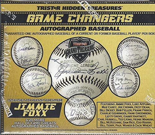 (2019 Tristar Game Changers Autographed Baseball box)