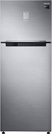 Samsung 476 L 3 Star Frost Free Double Door Refrigerator(RT49K6758S9/TL, Silver, Convertible)
