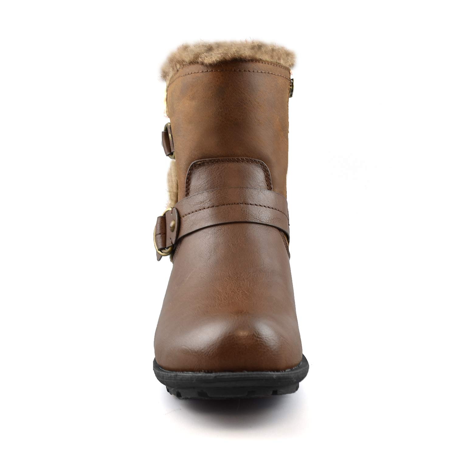 Comfy Moda Womens Winter Boots 3M/™ Thinsulate/™ Memory Foam Super Warm Comfy Size 12 Available Meghan