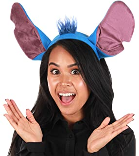 Amazon Com Lilo And Stitch Ears Costume Plush Hair Headband Cosplay Birthday Party Favors Gift One Size Kids Halloween Accessory Clothing