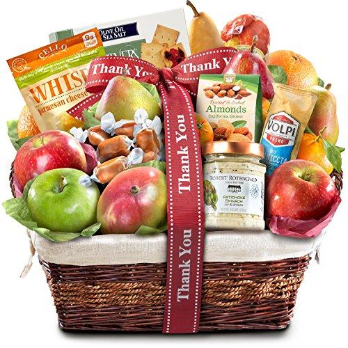 Thank You Abundance Gourmet Fruit Basket Gift