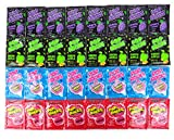 POP ROCKS Popping Candy 4-Flavor Variety: Eight 0.33 oz Packets Each of Original Cherry, Green Apple, Grape, and Cotton Candy Explosion in a BlackTie Box (32 Items Total)