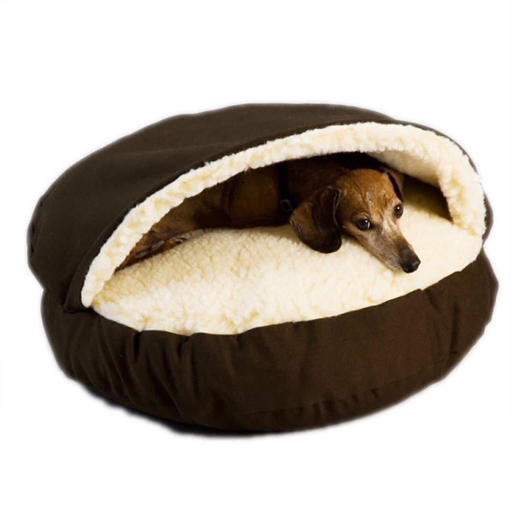 Cama de la Cueva del Perro Cama de la Cama del Gato de la Cueva del Perro para Pequeños Perros medianos Grandes de los Perros (S, Gris): Amazon.es: ...
