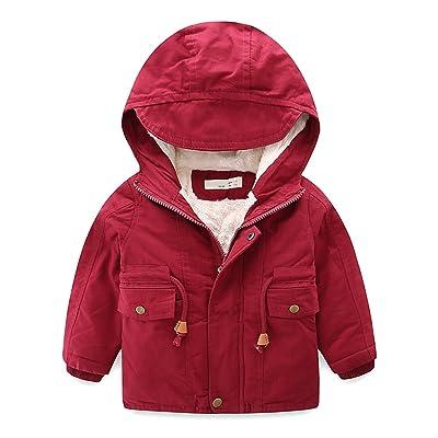 2017 Boys & Girls Hooded Winter Outwear Fleece Lined Softshell Jacket