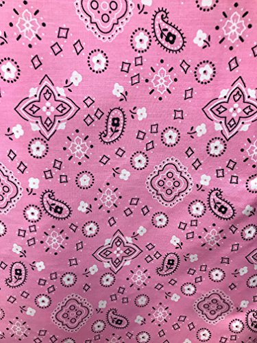 Bandana Print Poly Cotton Fabric 60