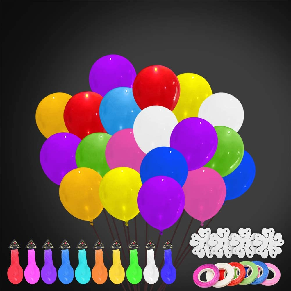 Party LED Balloons Lights 40 Pieces Balloons