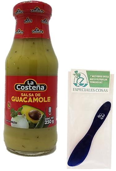 """La Costena Salsa de Guacamole 250g (Pack of 2) with Especiales Cosas 7"""""""