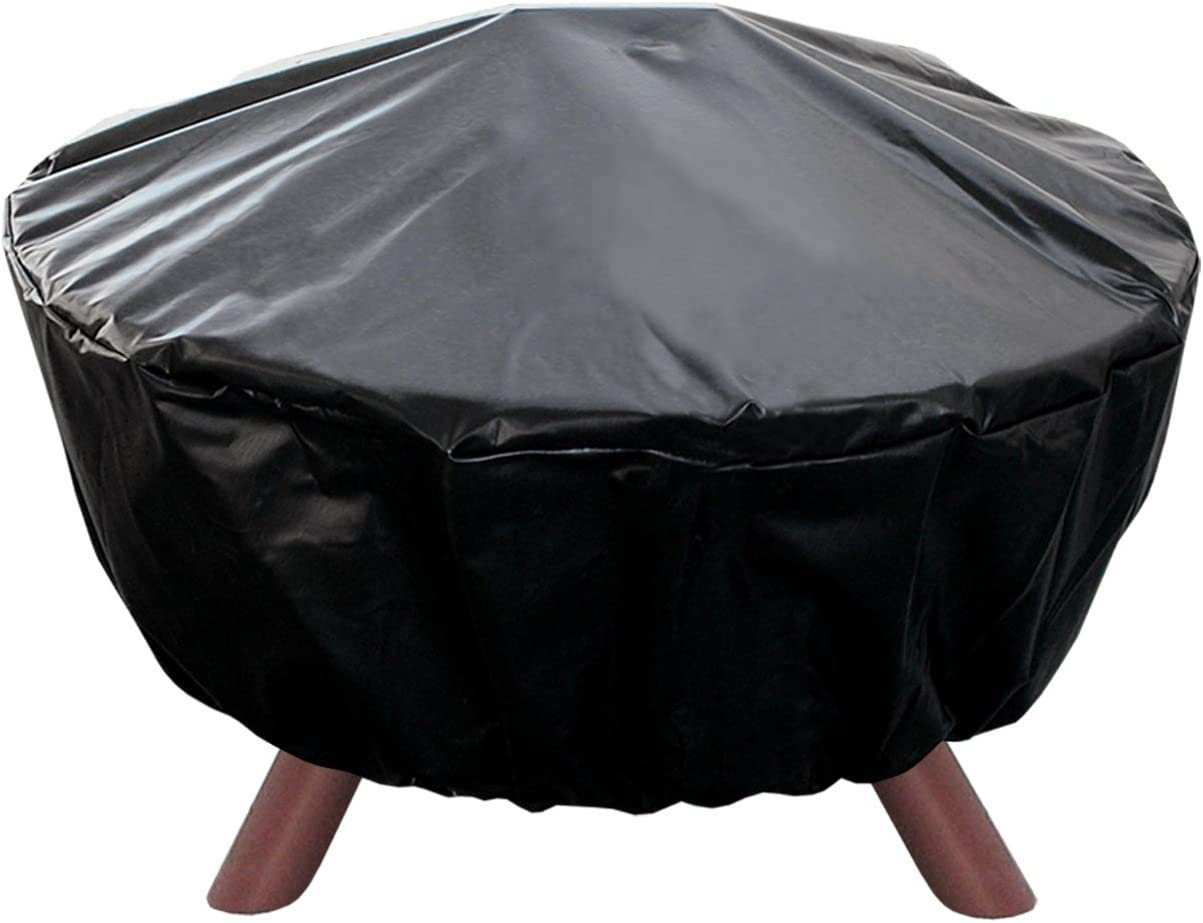 Landmann USA 29300 Big Sky Fire Pit Cover, 32-Inch Diameter,Black