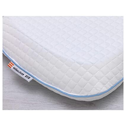 Cuscino Memory Foam Ikea.Amazon Com Ikea Asia Krakklover Memory Foam Pillow Home