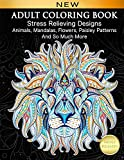 Adult Coloring Book : Stress Relieving Designs