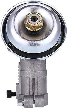 Cabezal de Engranaje de la Desbrozadora - Recortador Delaman Reemplazar el Cabezal del Engranaje Caja de Engranajes 26 mm Diámetro 1PC(9-teeth): Amazon.es: Bricolaje y herramientas