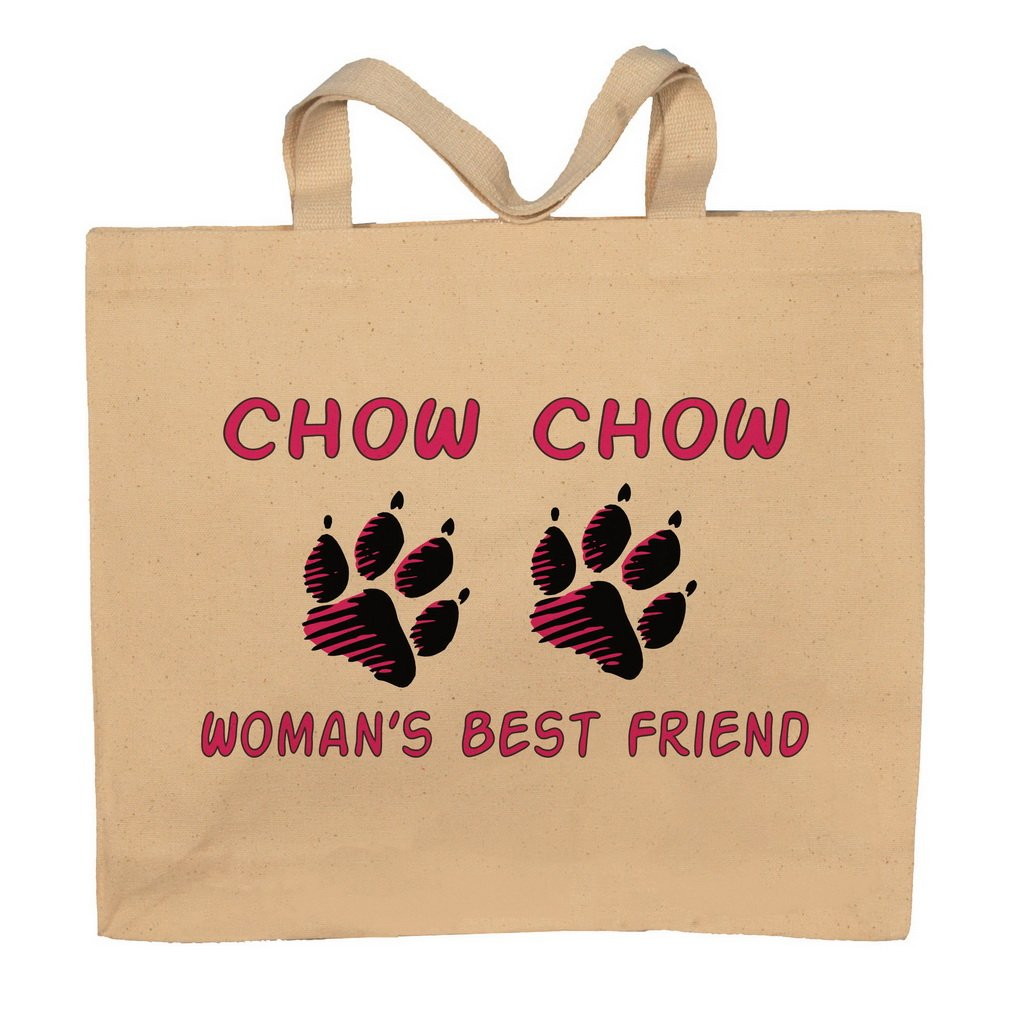Chow Chow Woman's Best Friend Totebag Bag