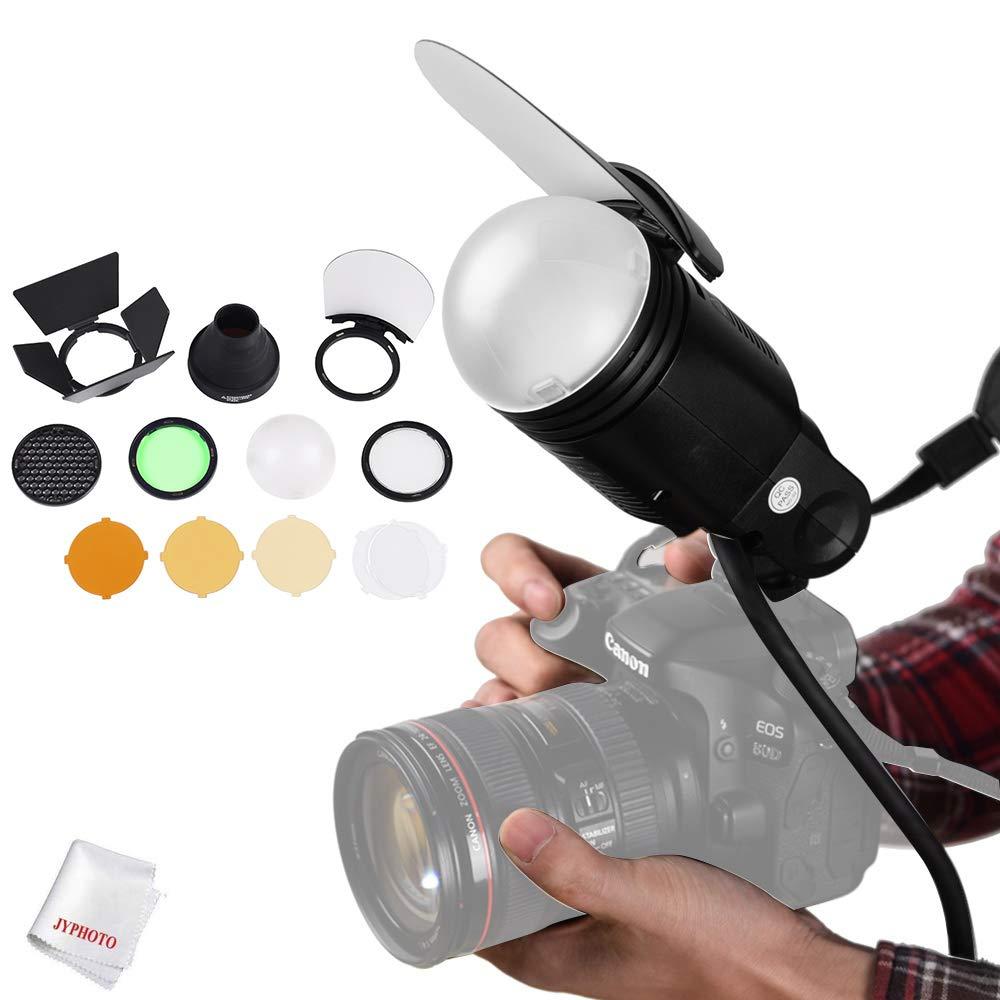 Godox AK-R1 Accessories kit Compatible for Godox H200R Round Flash Head, Godox V1 Flash Series,V1-C,V1-N,V1-S,V1-O,V1-P,AD200 Pro AD200 Accessories by Godox