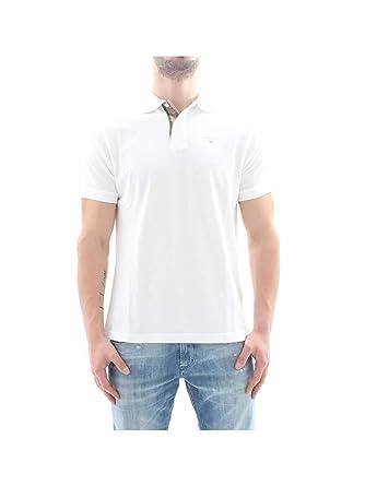 Barbour BAPOL0119 Polo Hombre Blanco M: Amazon.es: Ropa y accesorios