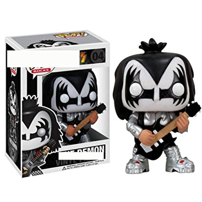 LRW Pop Figure! The Demon Collectible Vinyl Figure from KISS anmie: Home & Kitchen