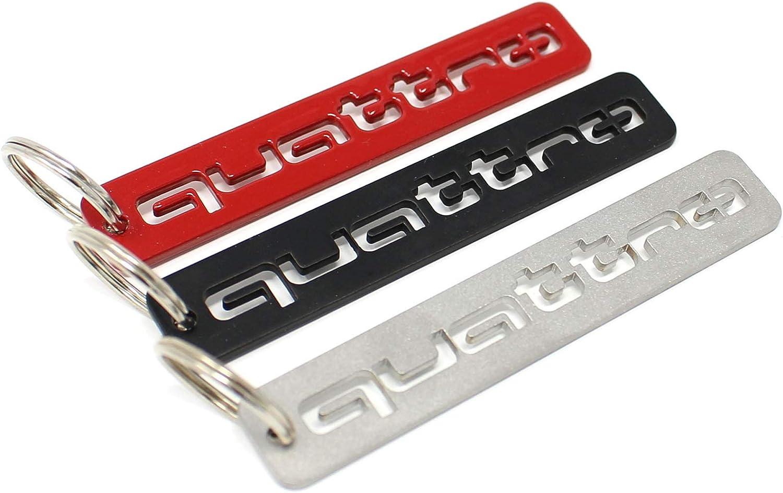 VmG-Store Quattro Porte-cl/és en acier inoxydable rev/êtu par pulv/érisation rouge