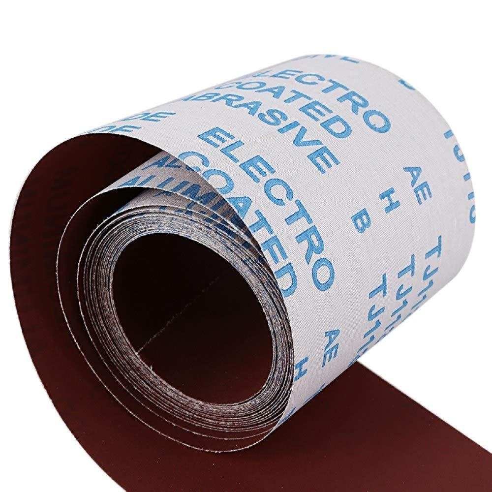 WHLEHL Papier de verre Papier sabl/é abrasif grain 600 brun fonc/é largeur 600 grain long 5 mm