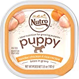 NUTRO PUPPY Tender Chicken & Rice Recipe Cuts in Gravy...