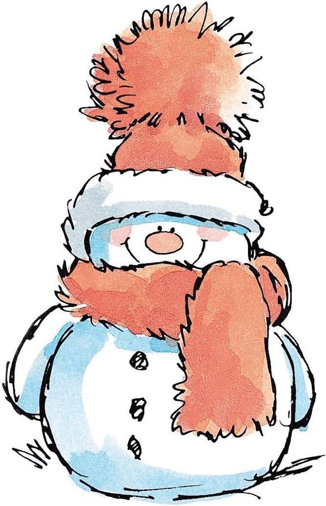 B0036US4L8 Penny Black 2521K Snowy Wood Mounted Rubber Stamp 617N136JOzL