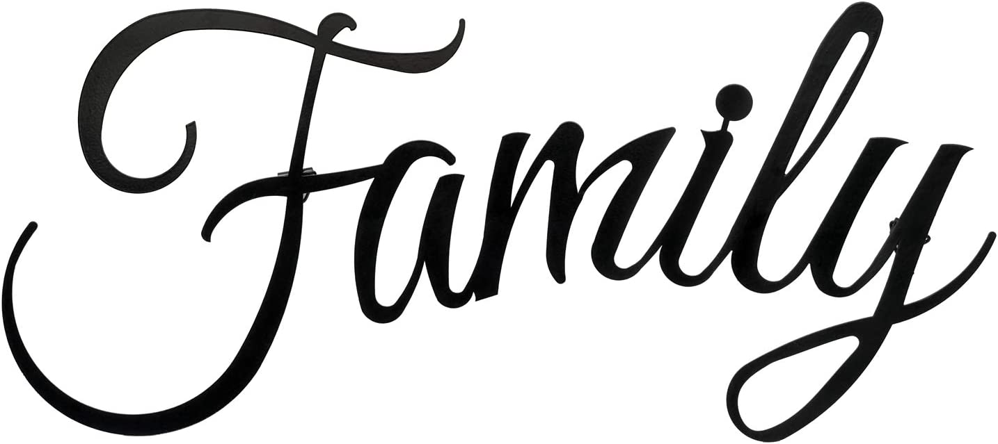 Indefree Family Wall Decor Family Signs for Home Decor Family Wall Decor for Living Room Family Wall Art Wall Decorations for Living Room Farmhouse Bedroom Kitchen Aesthetic Outdoor Indoor