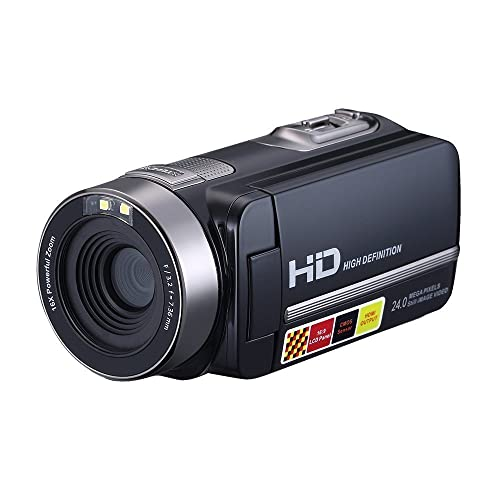 "GordVE SL002 2.7"" LCD Screen Digital Video Camcorder Night Vision 24MP HD Video Camera"