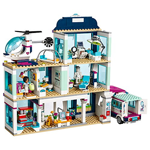 LEGO Friends Heartlake Hospital 41318 Building Kit (871 Piece) by LEGO (Image #1)